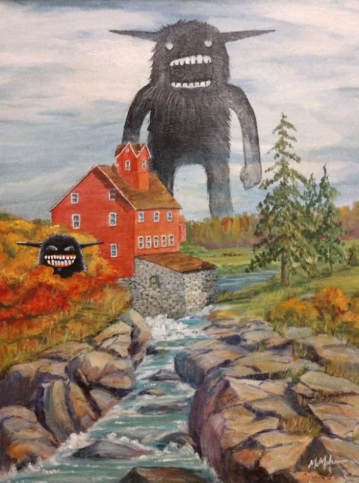 Old-Paintings-Added-Monsters-Christopher-Mcmahon