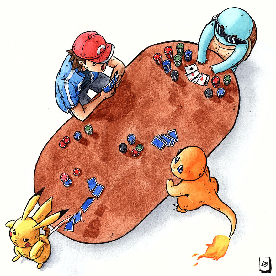 Play Poker Or Other Board Games Like Ash
