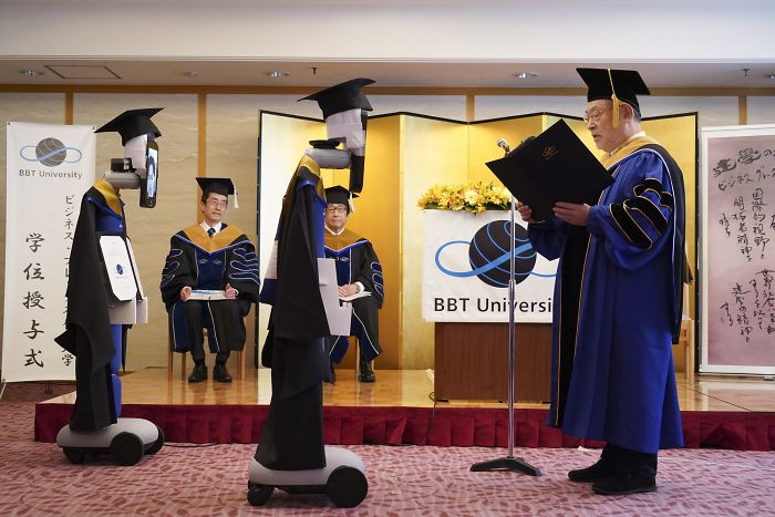 Japanese University Found A Genius Solution For Their Graduation