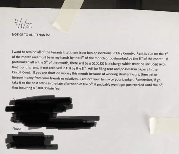This Ultra Caring Letter From A Landlord