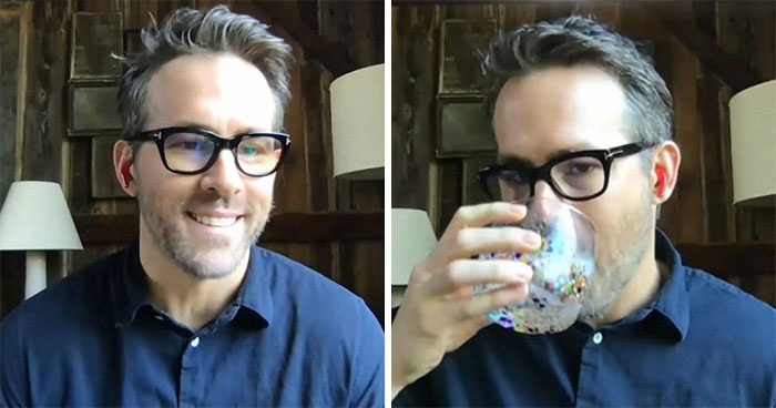 """I'm Mostly Drinking"": Ryan Reynolds Shares What It's Like Quarantining With 5 Women In A Funny Interview"