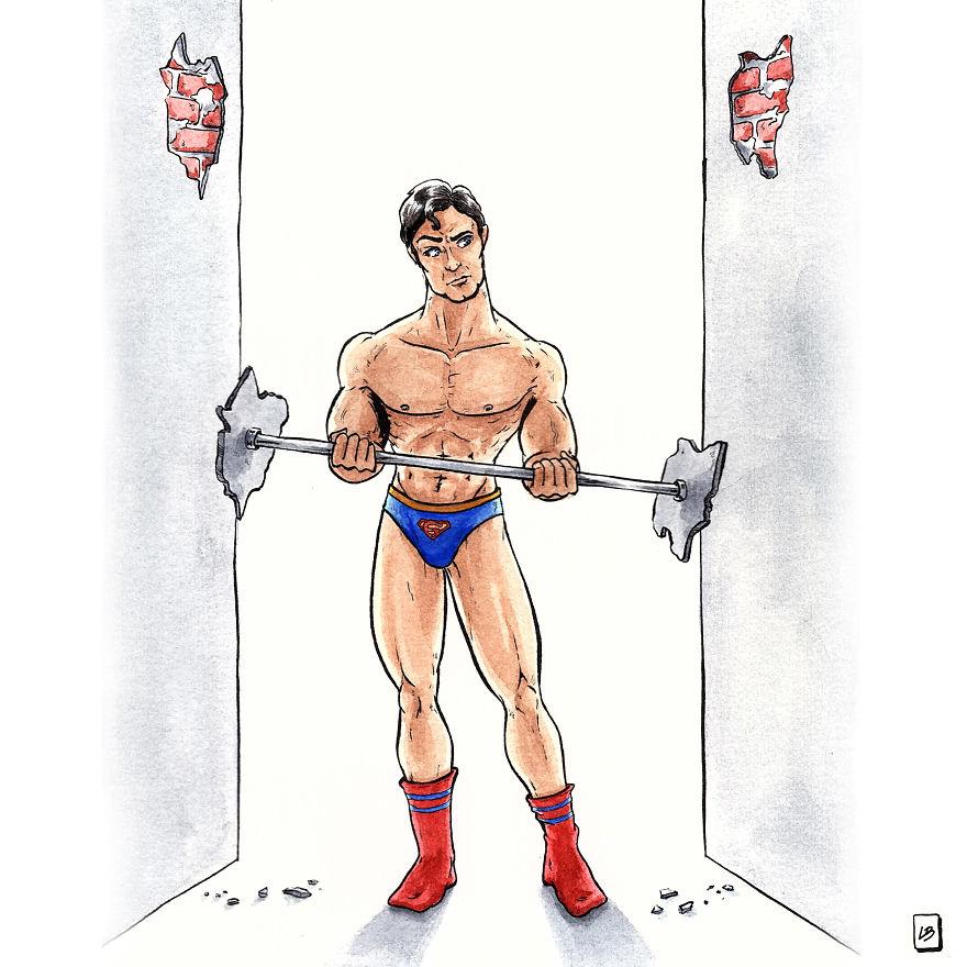 Exercise Like Superman