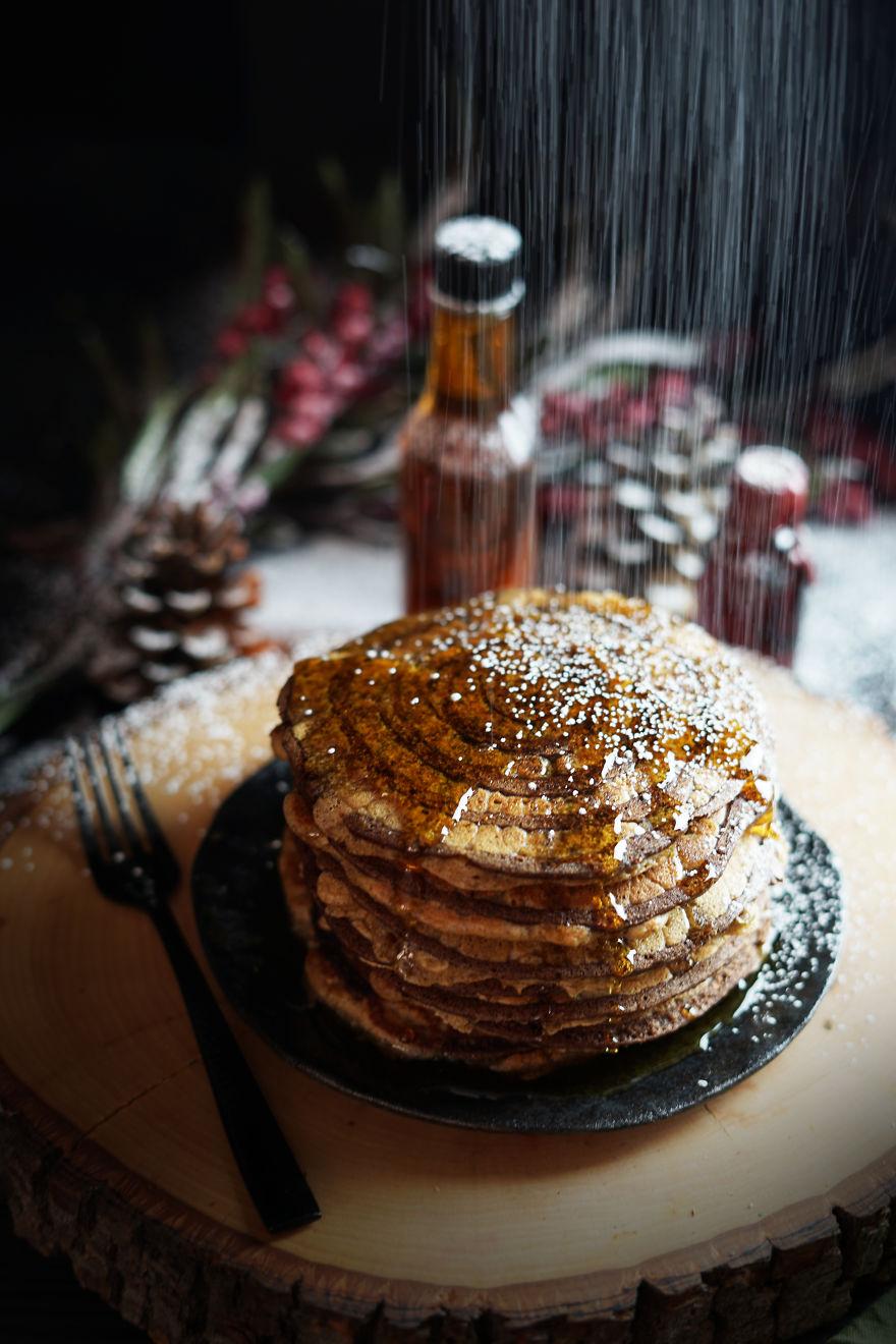 Tree Slice Pancakes
