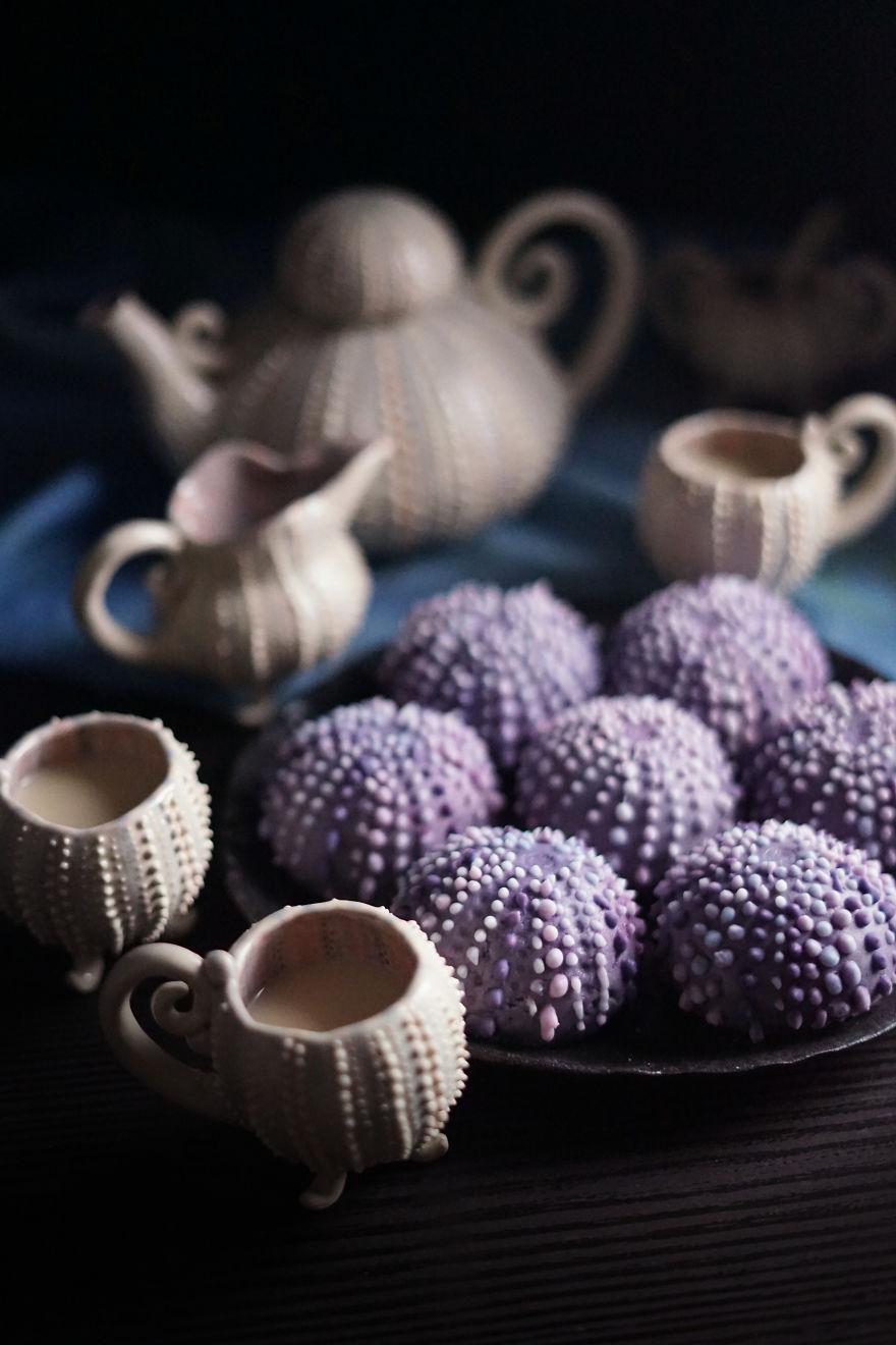 Sea Urchin Tea Cakes