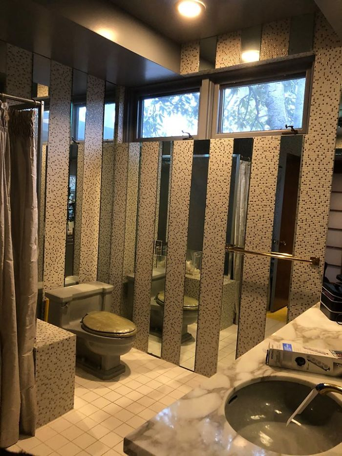 This Is Our Guest Bathroom In Our Mid-Century Ranch