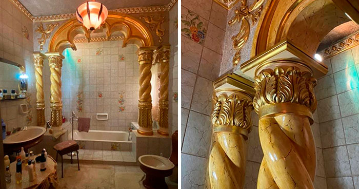 People Are Sharing Their Unusual Bathroom Designs, And Here Are 30 Of The Best Ones