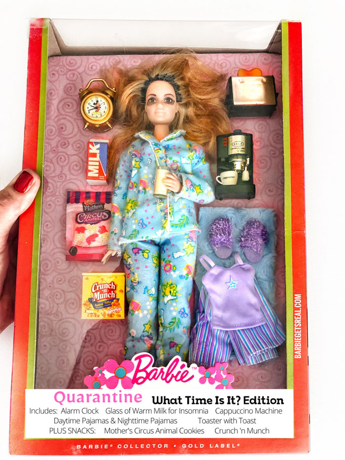 Quarantine Barbie What Time Is It? Edition