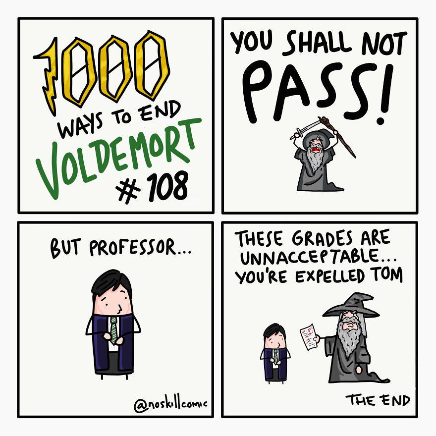 The New Defense Against The Dark Arts Teacher Is A Bit Harsh (And Dramatic)