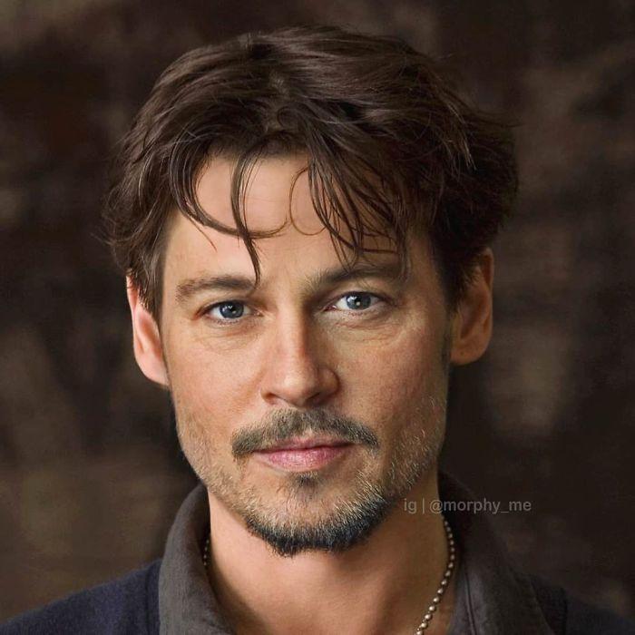 Brad Pitt & Johnny Depp