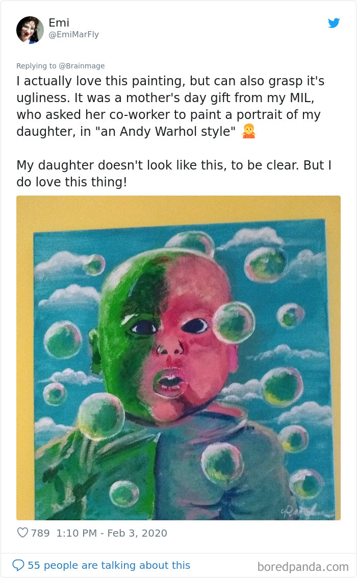 A Painting Of A Baby
