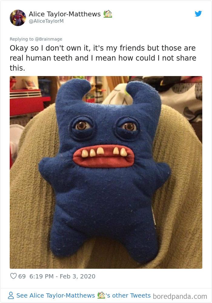 Teethed Doll
