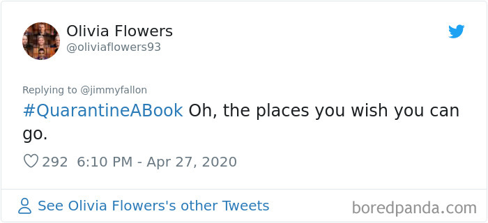 30 People Hilariously Respond To Jimmy Fallon S Quarantine A Book Challenge Bored Panda Ponyboy ponyboy hates that your favorite show is degrassi. bored panda