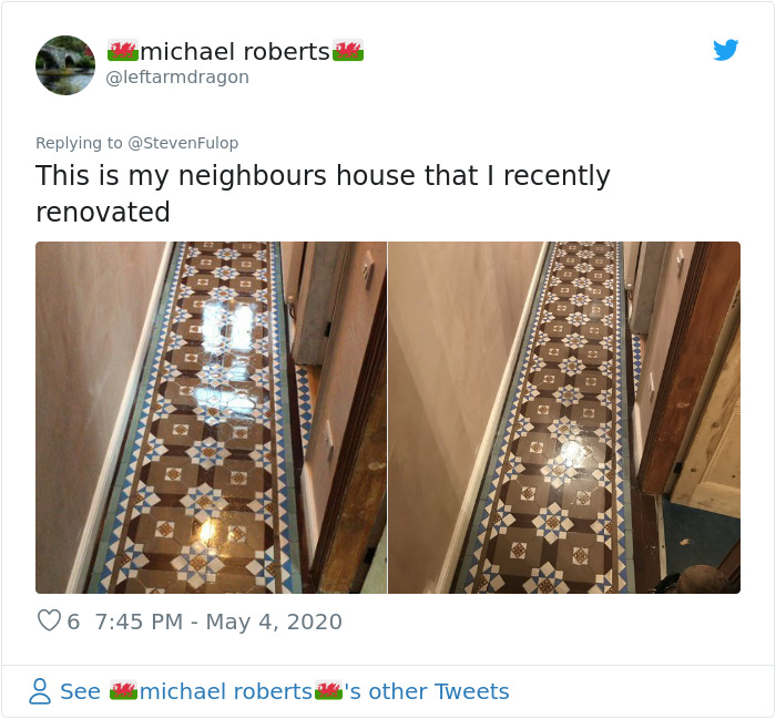After City Hall Renovation Unveils A Stunning Early 20th Century Tiled Floor, People Start Sharing Their Own Unexpected Discoveries As Well