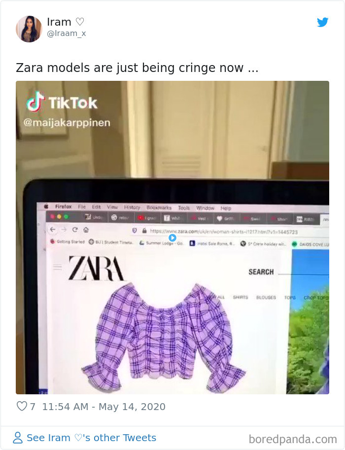 Zara Shoppers Are Saying It's Impossible To Shop Online Due To Weird Modeling Poses, Share Screenshots To Prove Their Point
