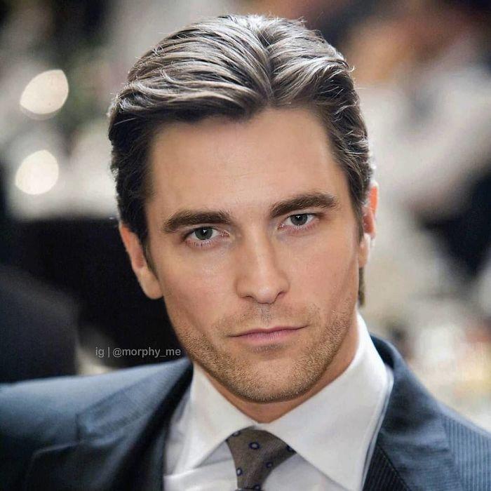 Christian Bale & Robert Pattinson