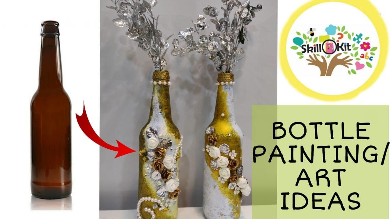 Easy Bottle Art By Skillokit