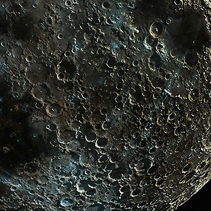 Photographer Captures And Mashes Up Different Moon Phase Photos To Make One Clear Picture