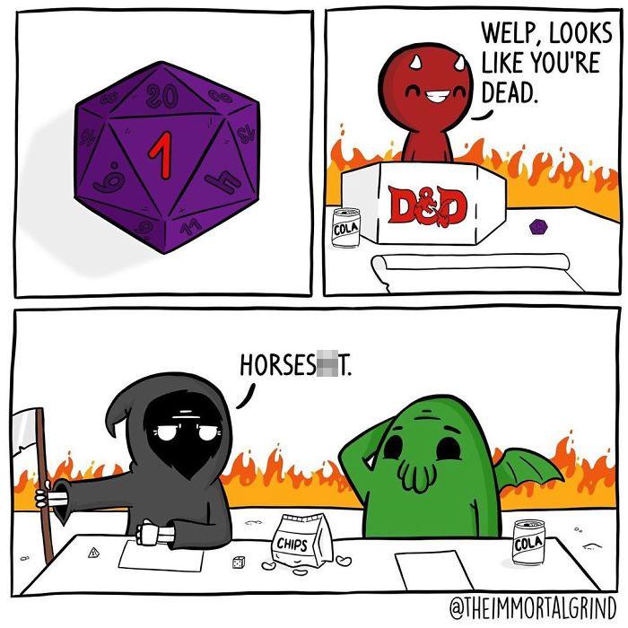 Damned D&d