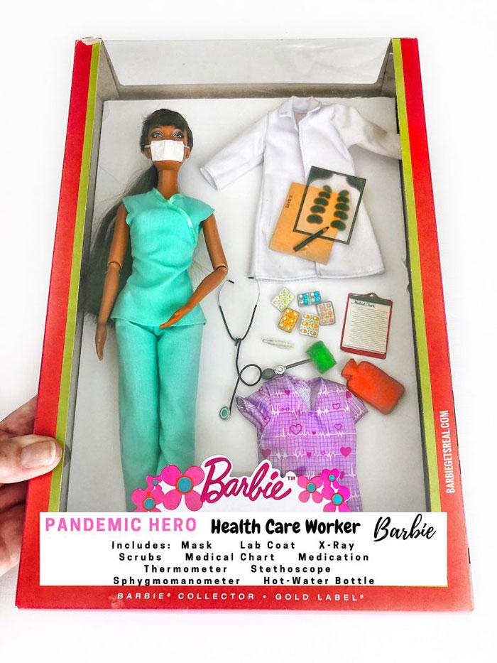 Pandemic Hero Barbie – Health Care Worker