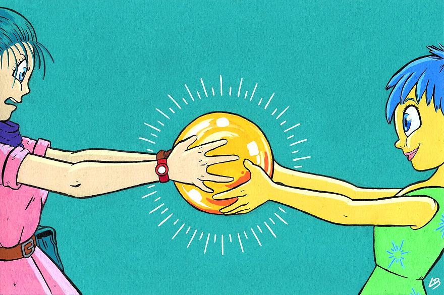 A Crystal Ball For Bulma And Joy