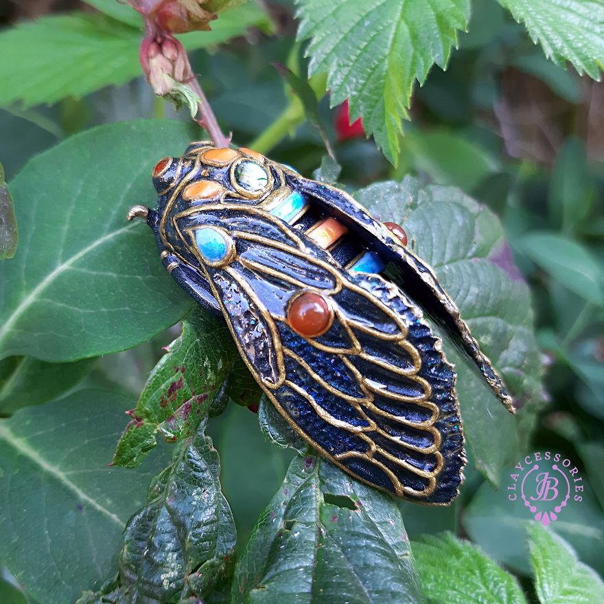 My Cicadas From Polymer Clay (12 Pics)