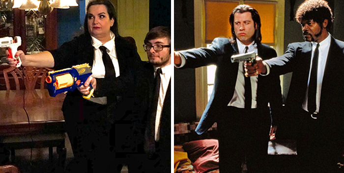 Tarantino Is A Favorite Of The Mum/Son Duo