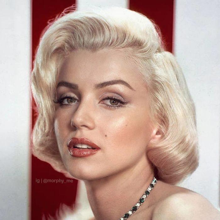 Ana De Armas & Marilyn Monroe