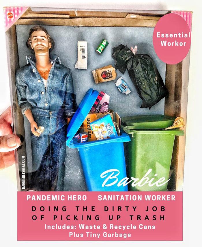 Pandemic Hero Barbie – Sanitation Worker