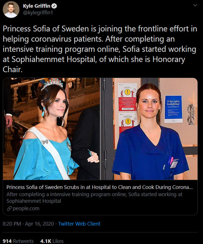 Isn't She The Princess From The Kingsman Movie?