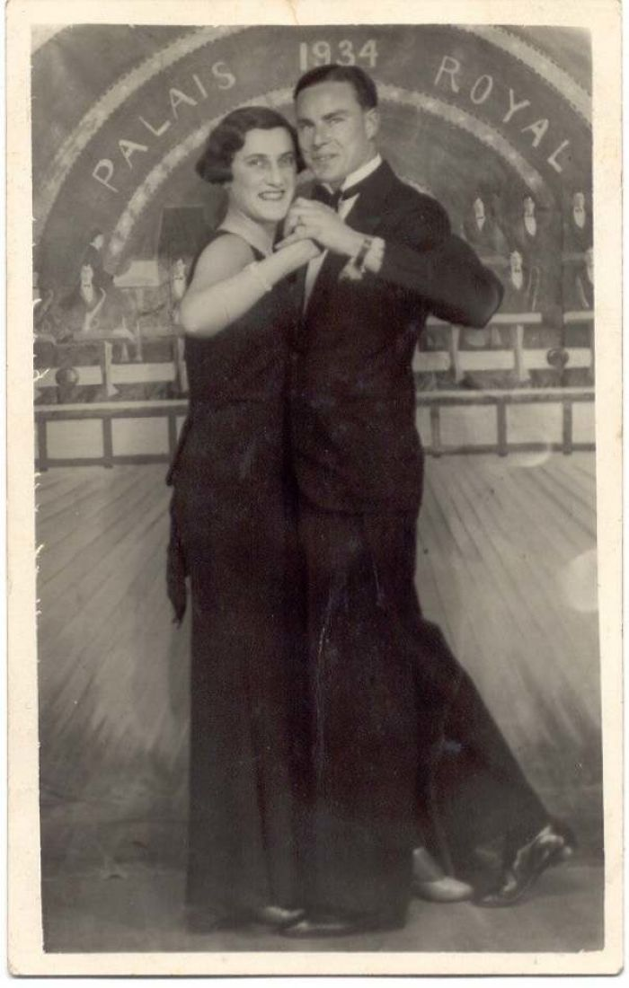 My Grandmother At 24 In 1934, Dancing With My Grandfather.