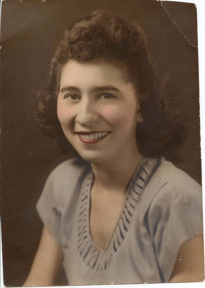 1945, My 18 Year Old Grandmother Concetta. She Was The Woman Who Taught Me How To Be A Sassy, Classy And Bad-Assy Woman.