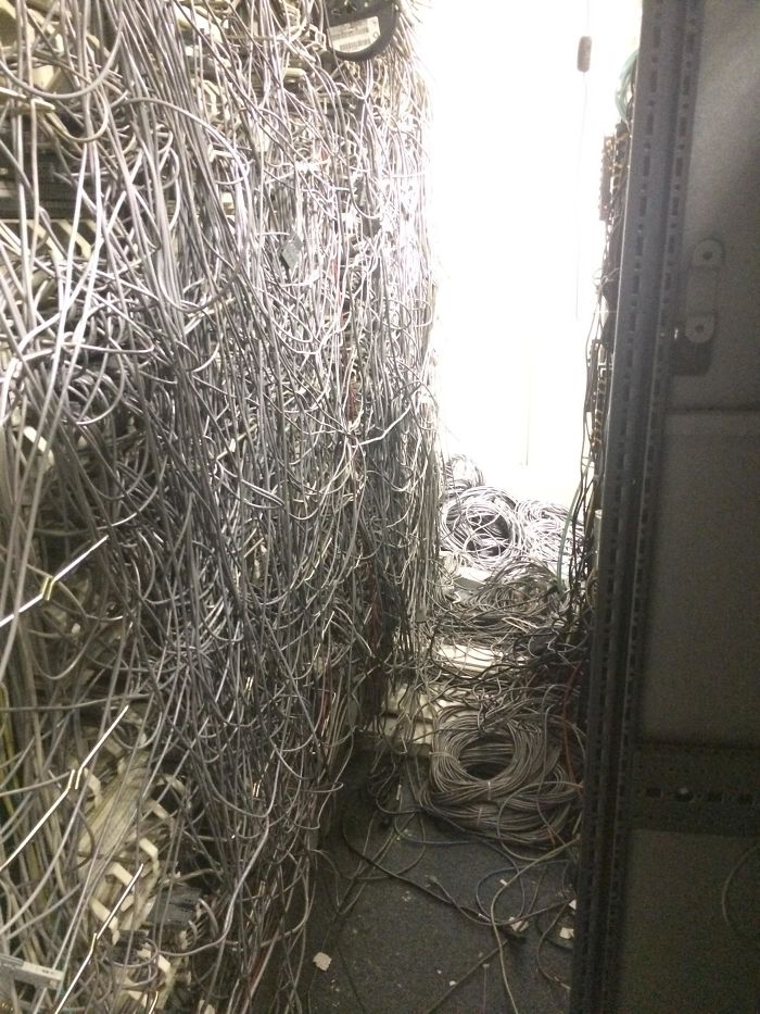 Professional Cabling At Pepsi