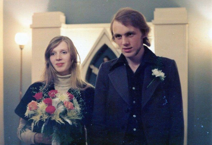 My Grandparents Getting Married In Iceland In 1976 At 19