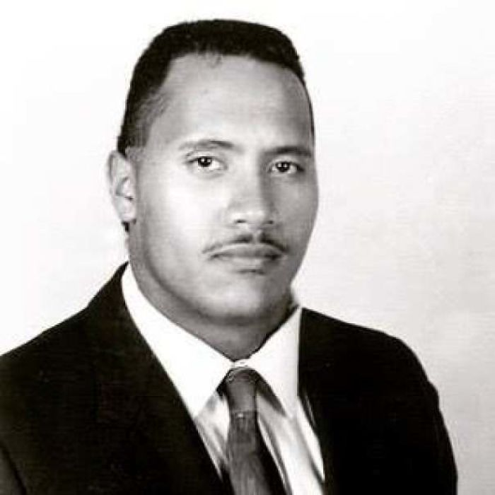 The Rock At 16 Years Old. (1987)