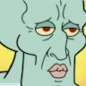 strong squidward