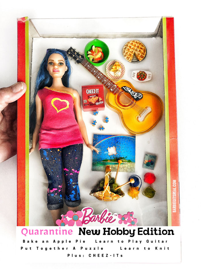 Quarantine Barbie Doll – New Hobby Edition