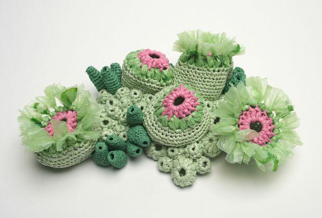 Gorgeous Plastic Sea Creatures Crocheted By Helle Jorgensen