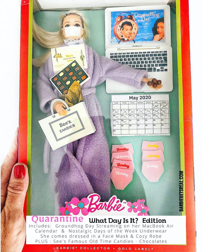 Quarantine Barbie – What Day Is It? Edition