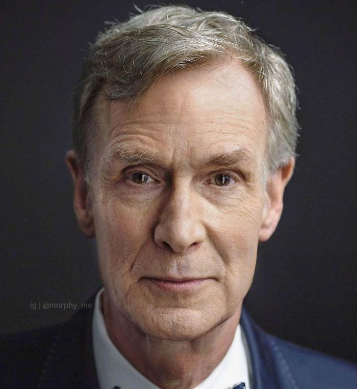 Bill Nighy & Bill Nye