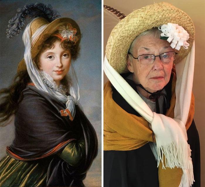 83-Yo-Grandma-Daughter-Recreate-Historical-Artwork
