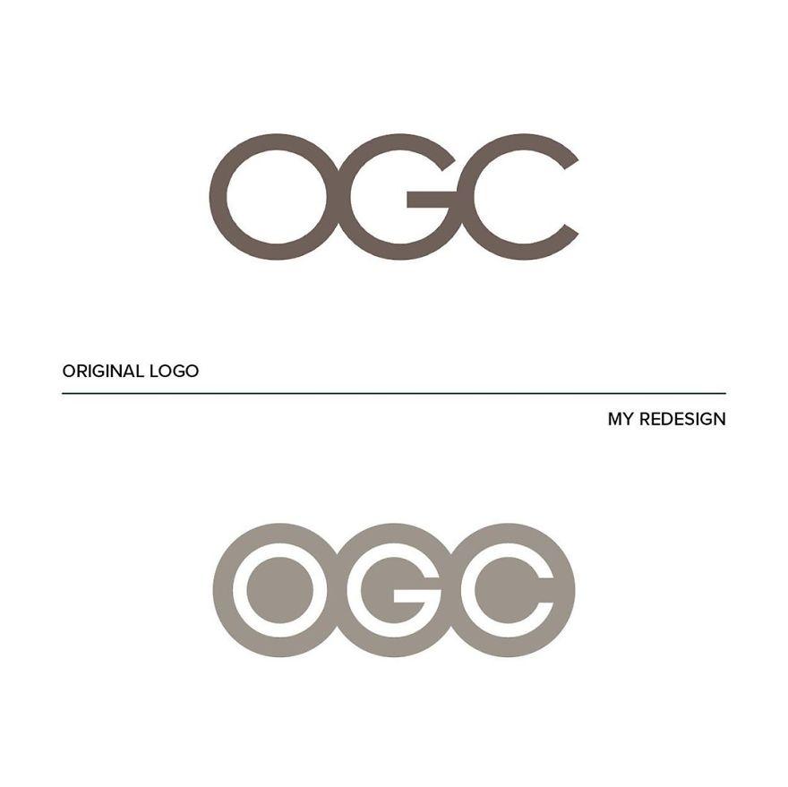 """Este diseñador ha arreglado los """"peores logos del mundo"""" (9 imágenes)"""
