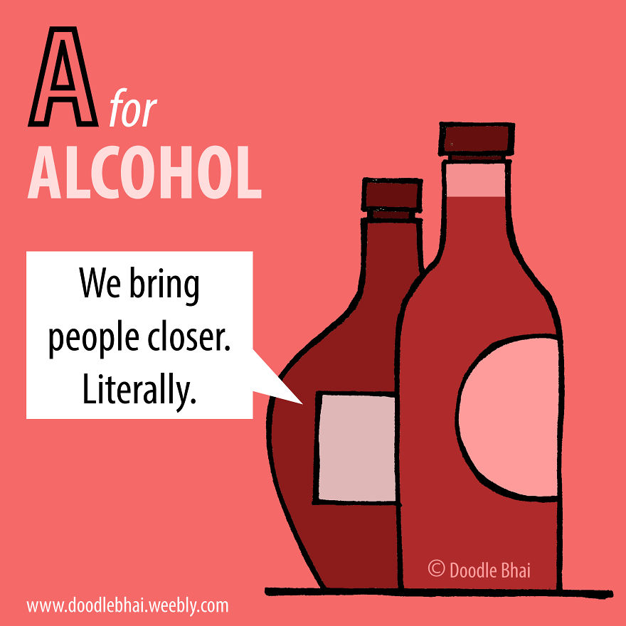 A For Alcohol