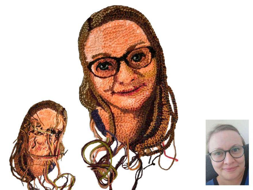 Crochet Art Project - Quarantine