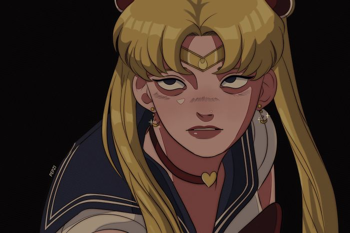 Artists From Around The World Challenged Themselves To Draw The Heroine Sailor Moon In Their Own Style