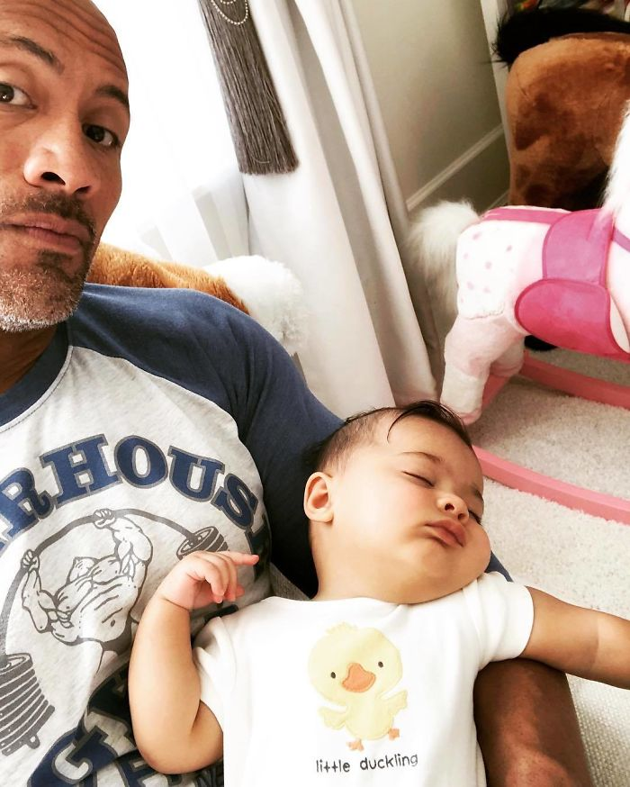 The Time He Sang To His Daughter Until She Fell Asleep