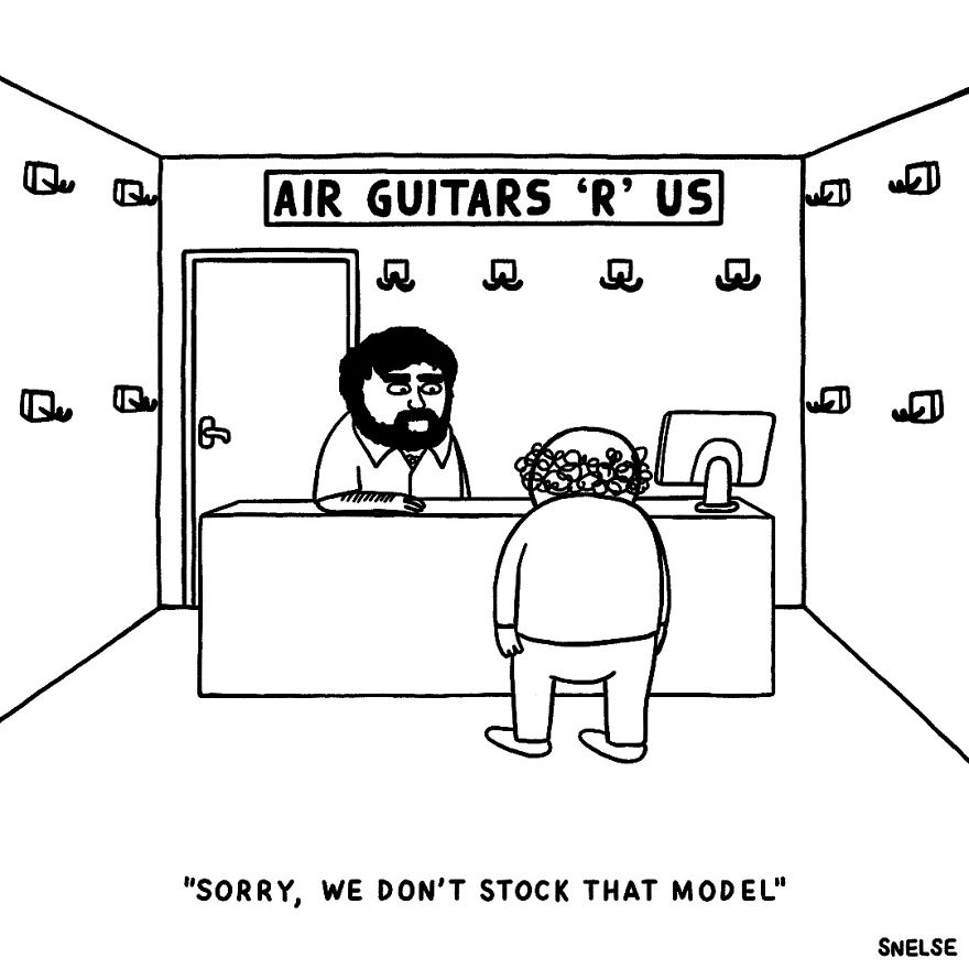Air Guitars 'R' Us