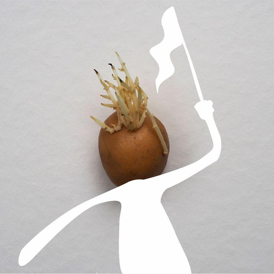 Be A Protesting Potato