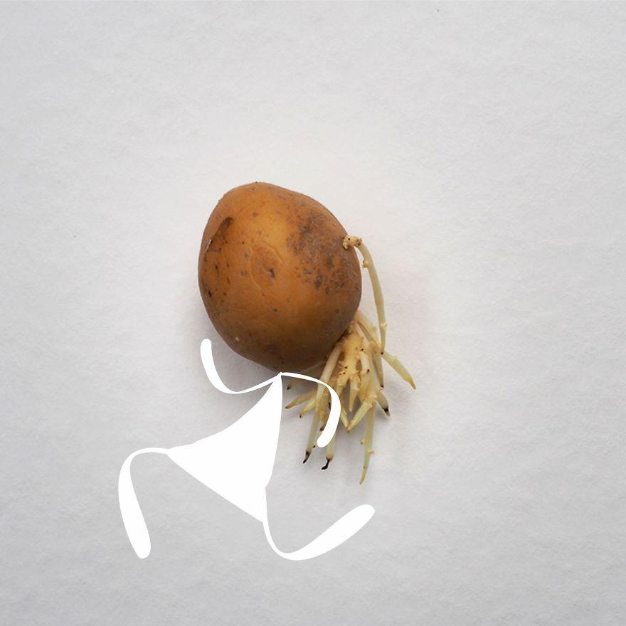Be An On-The-Spot Jogging Potato
