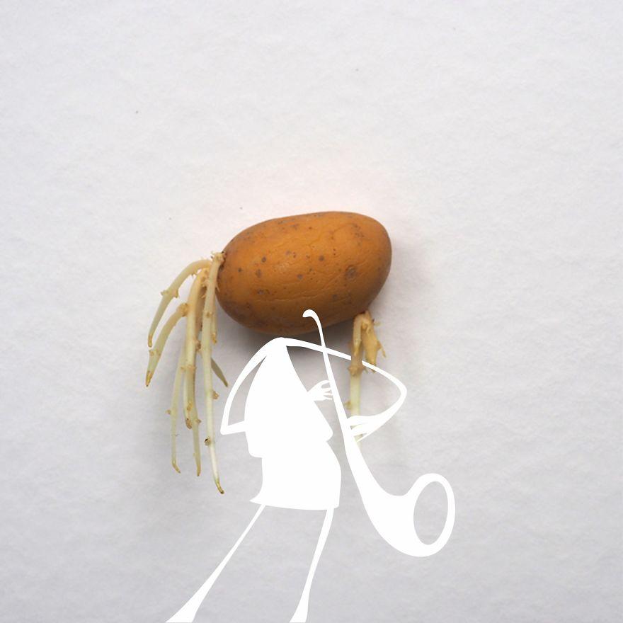 Be A Saxy Potato