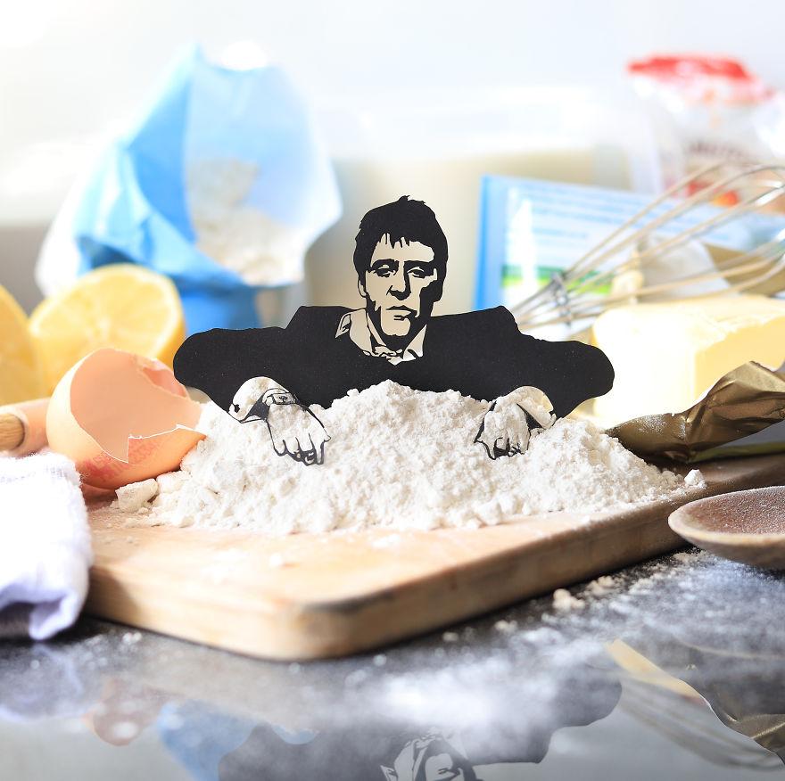 Tony Montana Loves Baking